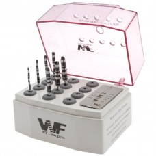 Kit Bone Reamer Drills - (Kit Osseodensificação) WF Cirúrgicos