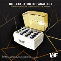 Kit Extrator de Parafuso Quebrado