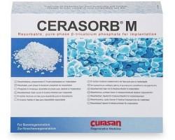 Enxerto Cerasorb (1000-2000 µm) 5 caixas de 0,5g cada - Curasan