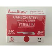 Lâmina de Bisturi 15C Carbono - Swann Morton