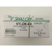 Fio de Sutura Shalon Nylon 6-0