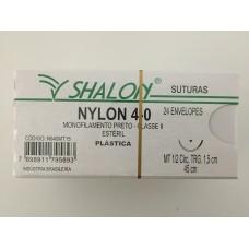 Fio de Sutura Shalon Nylon 4-0