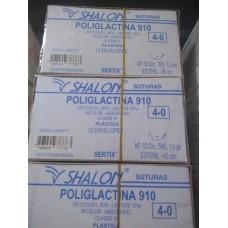 Fio de Sutura Shalon Poliglactina 4-0